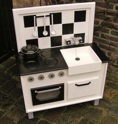1000 images about papiergoed winkeltjes en keukentjes - Fabriquer une cuisine enfant ...