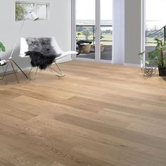 Parkett 1-stav Eik Exclusive XXL Mattlakket Hardwood Floors, Flooring, Living Room, Image, Wood Floor Tiles, Wood Flooring, Drawing Room, Sitting Area, Floor