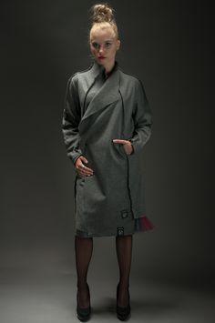 Woolen Cloth Coat   Hultaj Polski sample sale on milieubazaar.com