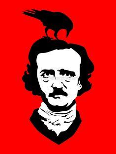 Edgar Allan Poe by monsterplanet BRISBANE, AUSTRALIA