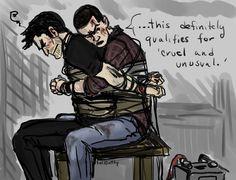 TW: Captivity by ~Gone-Batty on deviantART (Derek Hale / Stiles Stilinski, Sterek, Tyler Hoechlin, Dylan O'Brien, Teen Wolf Fanart)