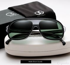 65180fb602e2 Oliver Goldsmith Carl sunglasses - Matte Black Quartz Burberry Sunglasses