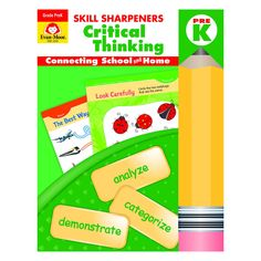 Prek Skill Sharpeners Critical Thinking
