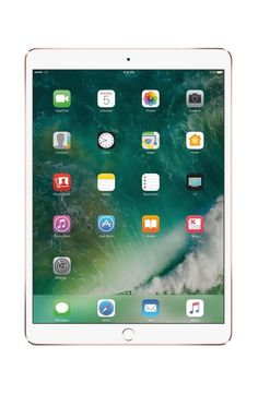 Apple - 10.5-Inch iPad Pro (Latest Model) with Wi-Fi + Cellular - 256GB (At&t) - Rose Gold, MPHK2LL/A