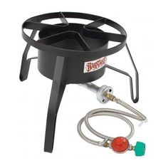Propane Gas Cooker Burner Stove Turkey Fish Fryer Boiler Emergency Stove Camping #fishfryer #EmergencyCooking