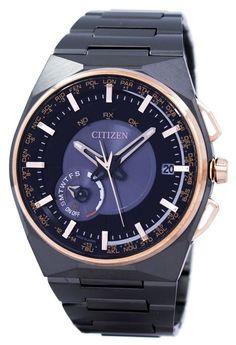 Citizen Eco-drive Satellite Wave Perpetual Calendar Japan Made Cc2004-59e Men's Watch (FREE Shipping)