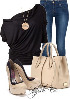LOLO Moda: Stylish fashion for woman Cute Outfits With Jeans, Outfit Jeans, Cute Jeans, Classy Outfits, Casual Outfits, Casual Jeans, Jean Outfits, Look Fashion, Winter Fashion