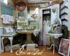 Girl in Pink: Booth Display Update, Roses and Projects!