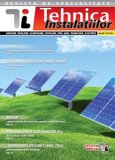 Revista Tehnica Instalatiilor nr. 01_97_2012 Solar Panels, Outdoor Decor, Home Decor, Journals, Sun Panels, Decoration Home, Solar Power Panels, Room Decor, Home Interior Design