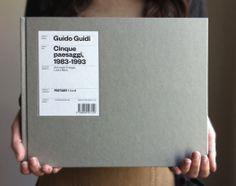 """Guido Guidi's book """"Cinque Paesaggi. 1983-1993"""". See more on www.sonnoli.com"""