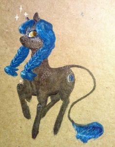 Why not. #pony #oc #marker #fanart #drawing