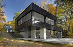 Cantilever Lake House / Birdseye Design, nice write up, problems, goals and solutions