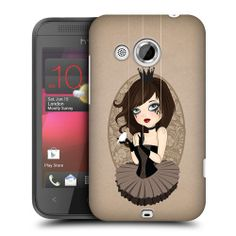 HEAD CASE SERAPHINA MARIONETTE DOLLS SNAP-ON BACK CASE COVER FOR HTC DESIRE 200