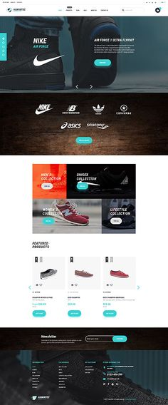 Sneakers Online Store #Shopify #template. #themes #business #responsive #webshop #Shopifythemes