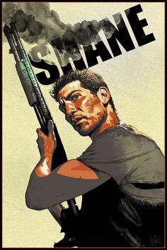 Shane - The Walking Dead by *ArmyAmber on deviantART (digital portrait) #TheWalkingDead #ShaneWalsh #Art
