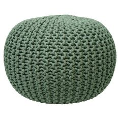 Green Gumball Pouffe - International Design Creations - from Temple & Webster today.