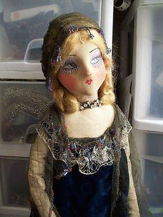 "Kuddles All Cloth 30"" Boudoir Doll | eBay"