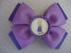 Disney Princess Rapunzel Purple Dazzle by AshleyAnnBowtique