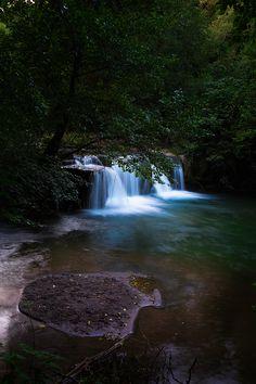 waterfall in Rome
