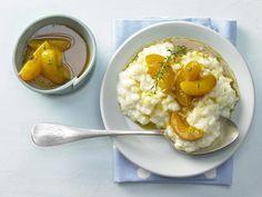 Vanille-Milchreis - mit Aprikosen-Sanddorn-Kompott - smarter - Kalorien: 330 Kcal - Zeit: 15 Min. | eatsmarter.de Mmmhhh ... Milchreis!