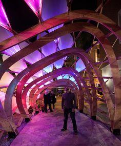ColoniaTecne pavilion, BIOS Design Collective, San Jose, 2012