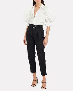 Lutratocro Women Contrast Vogue Trousers Elastic Waist Sport Jumpsuit