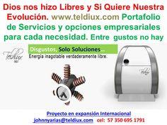 La Energia Libre a tu alcance. Crowdfunding Teldiux http://www.teldiux.com/es/Crowdfunding-es.. Participa y Acepta el Desafio  Teldiux
