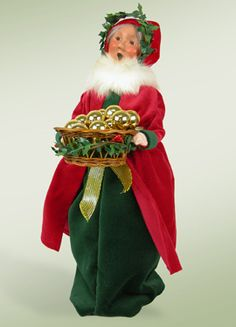 Old English Mrs Claus Traditional Christmas Caroler New Byers Choice figurine