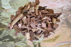 Foil wood chip packet for smokers