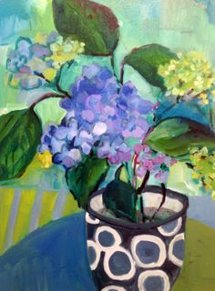 Annie O'Brien Gonzales - so bright and full of light! See her work at: http://www.annieobriengonzales.com/