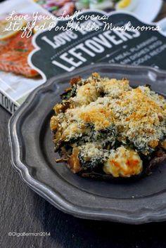My lentil-stuffed portobello mushroom recipe from Love Your Leftovers!