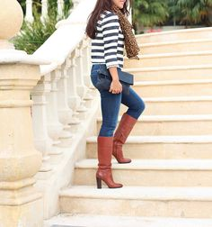 Stripes and Leopard 3 by Stylish Petite, via Flickr