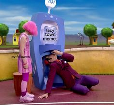 "This meta meme. | 23 ""Lazy Town"" Jokes That Quite Honestly Need To Be Stopped"