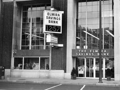 This 1964 photo shows The Elmira Saving Bank, located on the south side of East Water Street at Baldwin Street in Elmira.