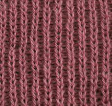 Half Brioche 2 ... many stitch patterns on this website