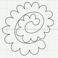 Image result for Soda Can Flower Template Felt Flowers, Diy Flowers, Fabric Flowers, Paper Flowers, Paper Butterflies, Felt Roses, Felt Patterns, Flower Patterns, Felt Flower Template