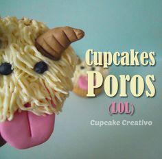 Cupcake Creativo: Cupcakes Poros (LOL)