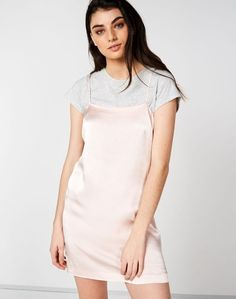 Shop and buy the latest in women's fashion and clothing online at Glassons.com. Check out this Satin Look Slip Dress - We are in LOVE with this satin look slip dress, featuring a square neckline and thin straps.