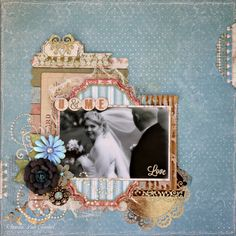 U and Me Scrapbook Page featuring Garden Journal Collection and Foil Rubons from BoBunny by Rhonda Van Ginkel. #BoBunny @snapwhiz