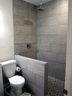 Check Out Tips And Tricks On Finishing A Full Basement Bathroom With A  Tiled Shower To