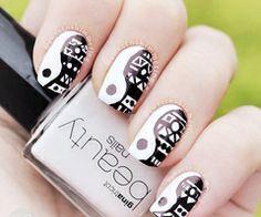 ❤️ #prom nail art