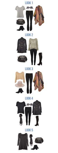 Mala de viagem com apenas 15 peças! | Dicas para organizar a mala. #moda #look #outfit #viagem #mala #inverno #inspiração #dicas #organização #blog #lnl #looknowlook