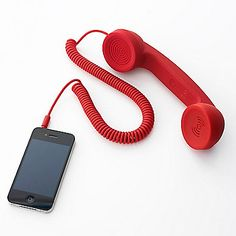 Kooky and kinda cool, this Native Union handset reduces radiation by 99 %