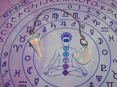Opalite Dowsing Pendulum  Gemstone Divination by esoTERRAca