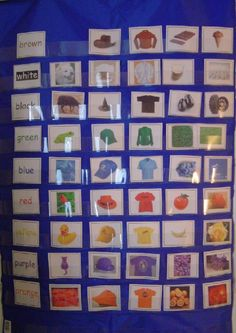 Color sorting cards