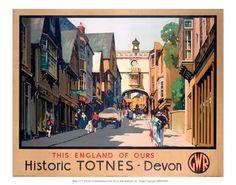 Historic TOTNES Devon