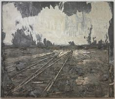 Lot's Wife, 1989 by Anselm Kiefer   From the collection of the Cleveland Museum of Art, Cleveland, OH
