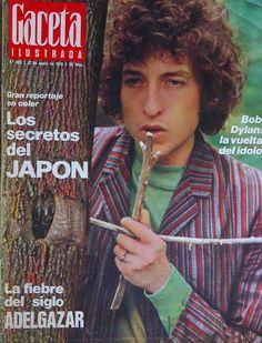 1974-01-22 Bob Dylan. La esencia de la fotografía es precisamente esa obstinación del referente en estar siempre ahí.