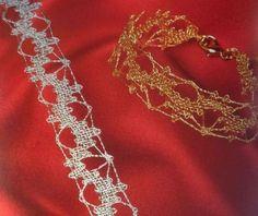 Lace Jewelry, Jewellery, Lace Heart, Bobbin Lace, Lace Detail, Butterfly, Diamond, Fashion, Head Bands