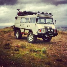 Pinzgauer 710 with 716k mods / My dream adventuremobile / Robynista says it scares her / I say what else would a tiny giant drive? /